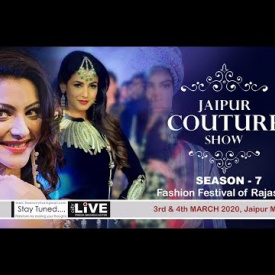 #Jaipur #COUTURE #Show 2020 - SEASON - 7, 3rd March #Fashion Festival of Rajasthan