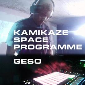 Kamikaze Space Programme + Geso – AV live set [timelapse]