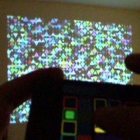 mtVJ on iPhone demo