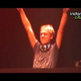 Armin van Buuren playing at the Godskitchen Fest Jakarta 2009
