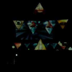 live video mapping Crossover stage,Lost Theoryfestival 15-20 & august 2012