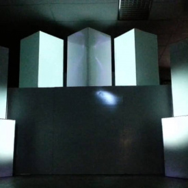 Projection Mapping by LED-Orange, Huntsville Event Lighting
