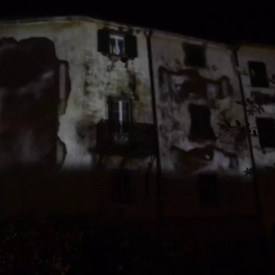 "MUSICA W FESTIVAL video mapping Castellina ""dottor Male"""