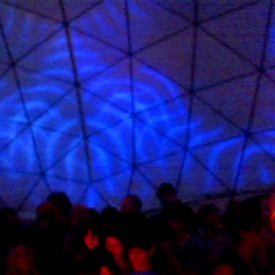REJENR8 DOME VISUALS - VJ ULTRA - SHAMBALA 2013