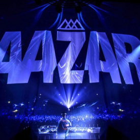VJ Show for Aazar at Zenith, Paris - Opening Act DJ Snake 25/11/2016