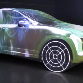 Eye See Experience & Plan a - Porsche 3D Mapping 2014