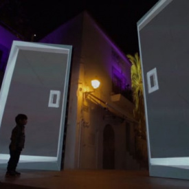 LA PUERTA by elimaginario. Ibiza Light Festival