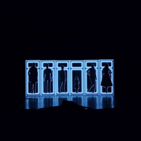 "Video mapping per ""6 personaggi in cerca d'autore"""