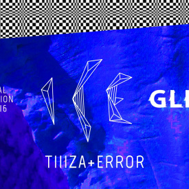 Мельпомена Таврии 2016. TIIIZA (Chillwave) ERROR (Video art ). Audio-Visual Event Ice Glitch.