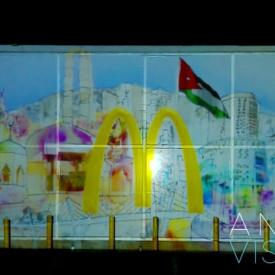 McDonald's® 20th Anniversary 3D Mapping - Amman, Jordan
