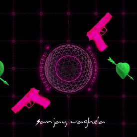 Wire Frame Rotated Heart Moving Weapon & Globe VJ Loop - Sanjay Waghela