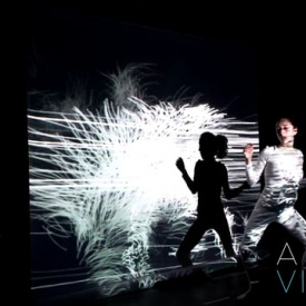 Real-time Digital Performance - Interactive Visuals / Motion Tracking Camera
