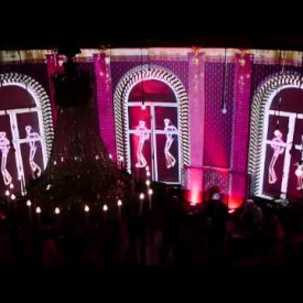 SWING IT !! - video mapping of RoteBar by VIJAY SIKANDA
