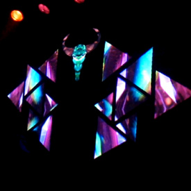 Projection mapping and VJing for Zepremikin 2k16 festival