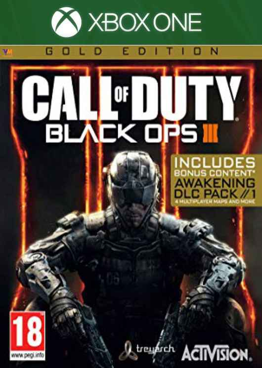 Call of Duty Black OPS 3 Gold Edition Image