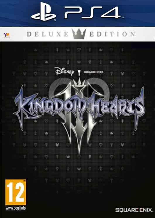 Kingdom Hearts 3 Deluxe Edition Image