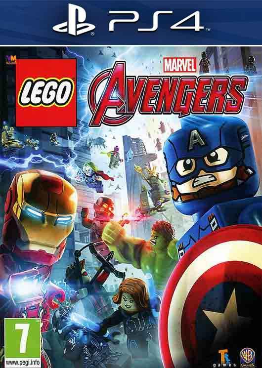 Lego Marvel Avengers Image