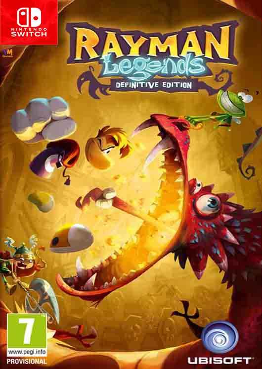 Rayman Legends Definitive Edition Image