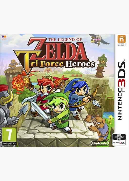 The Legend Of Zelda Tri Force Heroes Image