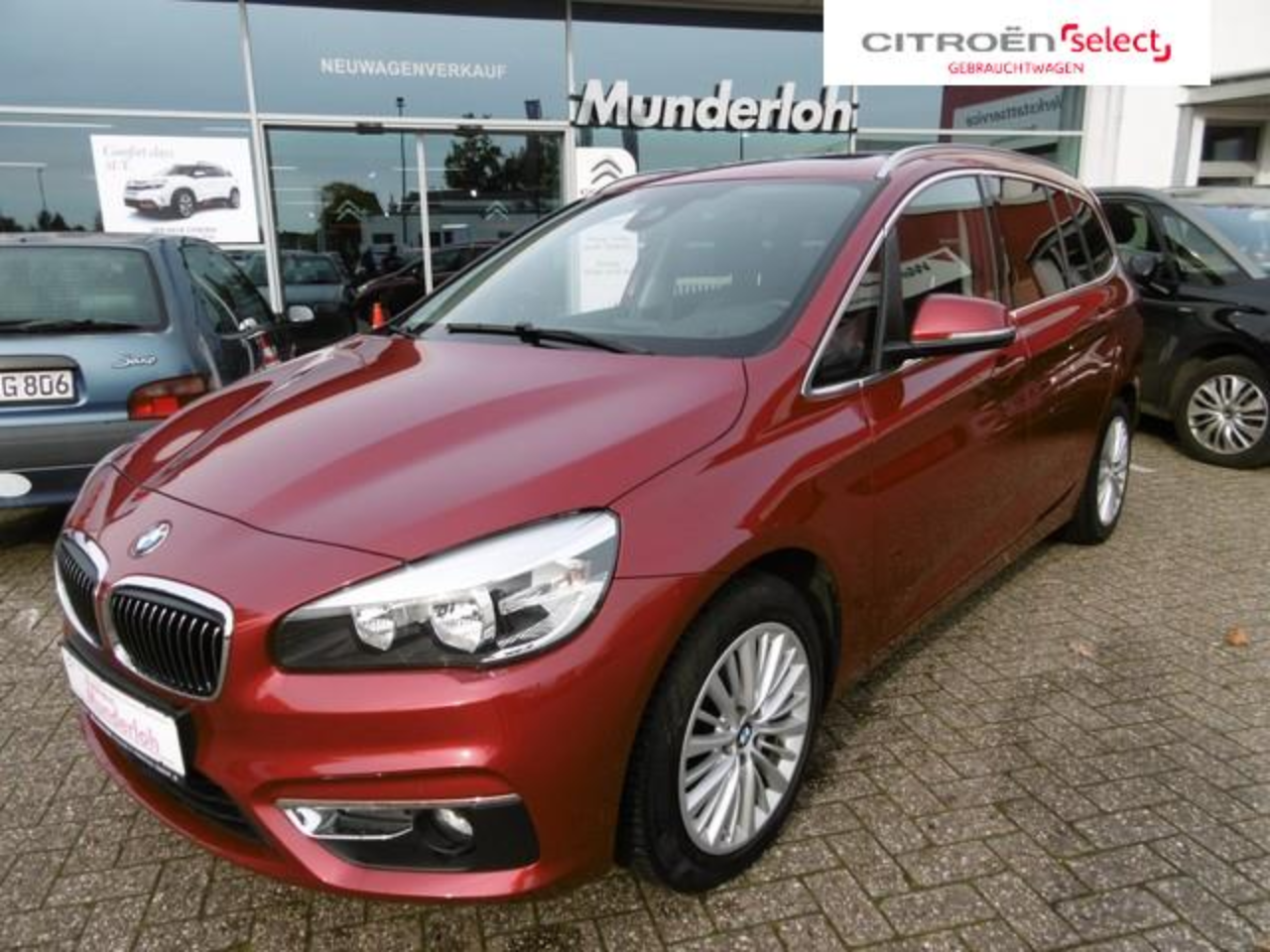 Bmw 2er 218 Gran Tourer Luxury Line LEDER PANORAMADACH