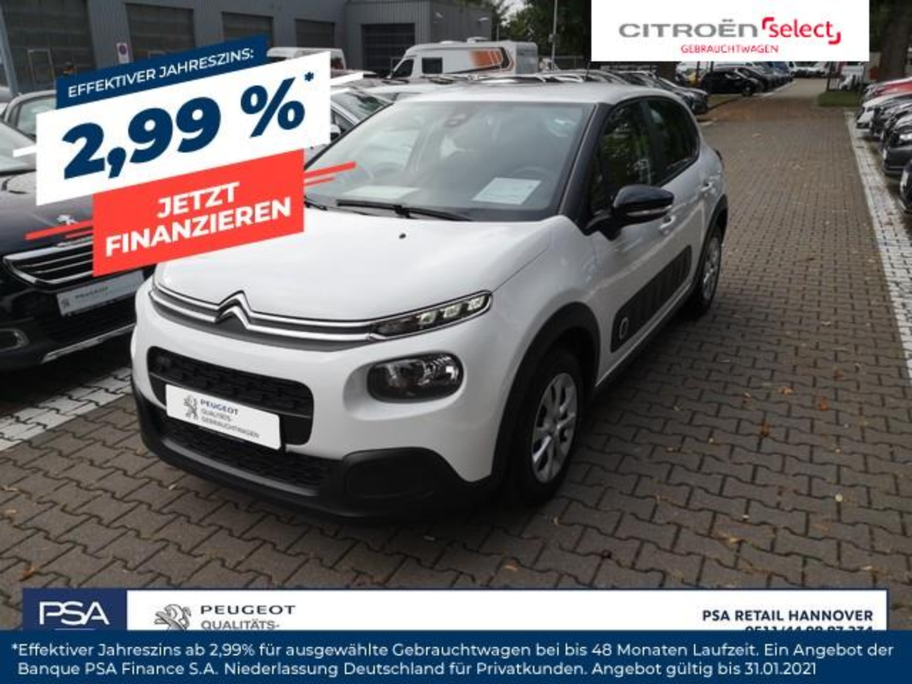 Citroën C3 Pure Tech 82 FEEL *Klima,Bluetooth*