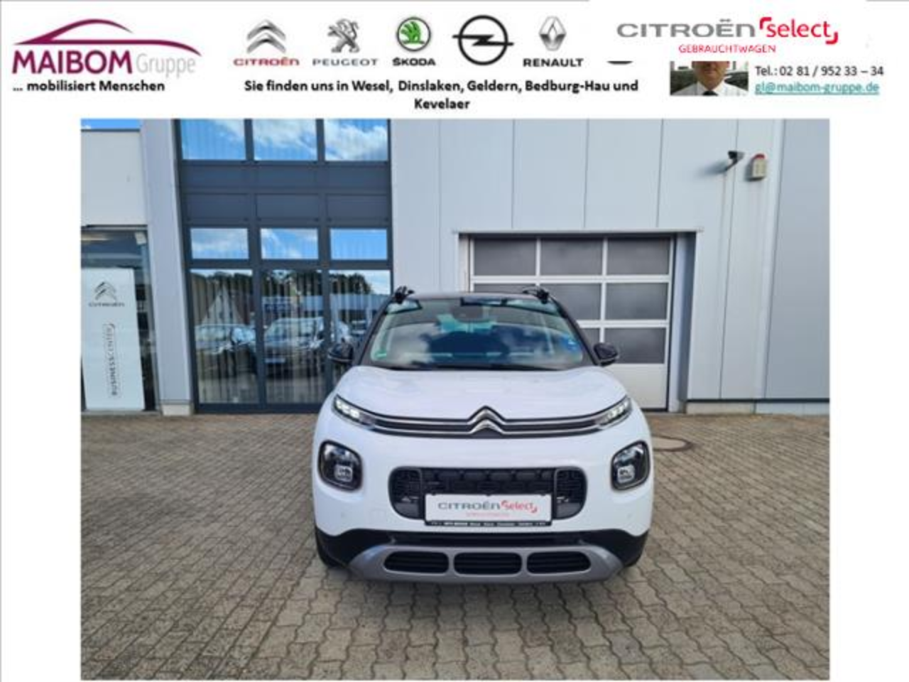 Citroën C3 AIRCROSS PureTech 110 Stop & Start OPF ORIGINS
