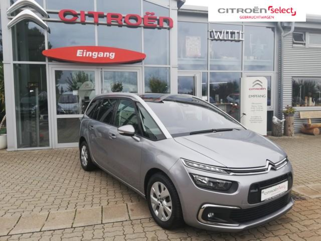 Citroën C4 Grand Spacetourer feel 131PS Benzin *SHZ*DAB*Park-
