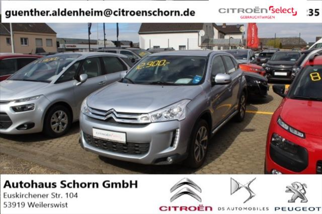 Citroën C4 Aircross HDi 115 Stop & Start 4WD Selection