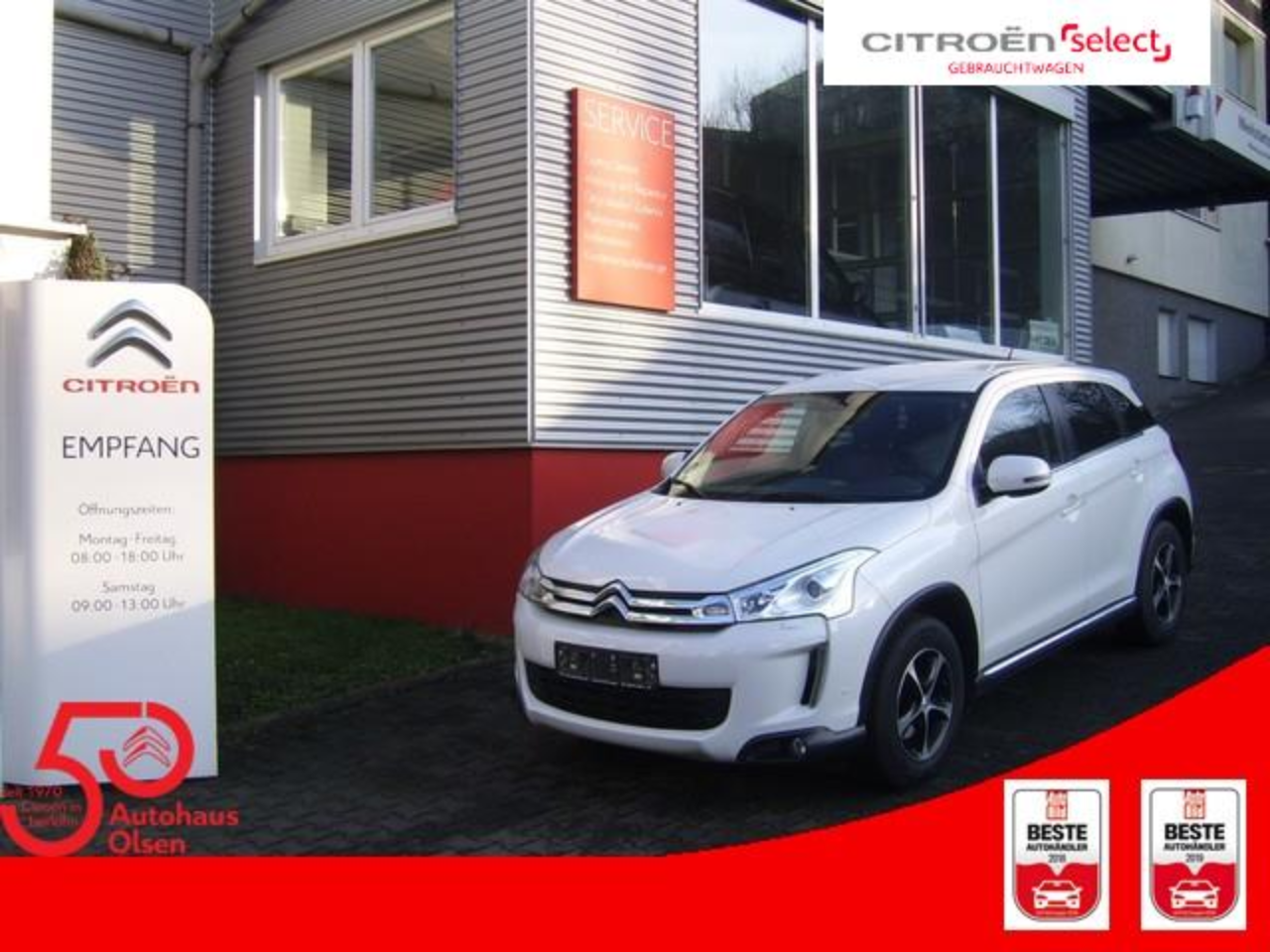 Citroën C4 Aircross HDi 115 Stop & Start 4WD Exclusive REDUZIERT