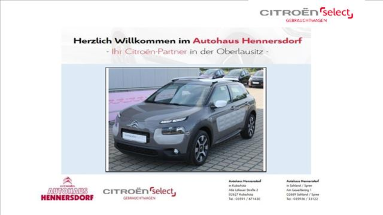 Citroën C4 Cactus Pure Tech 110 Stop&Start Feel Edition