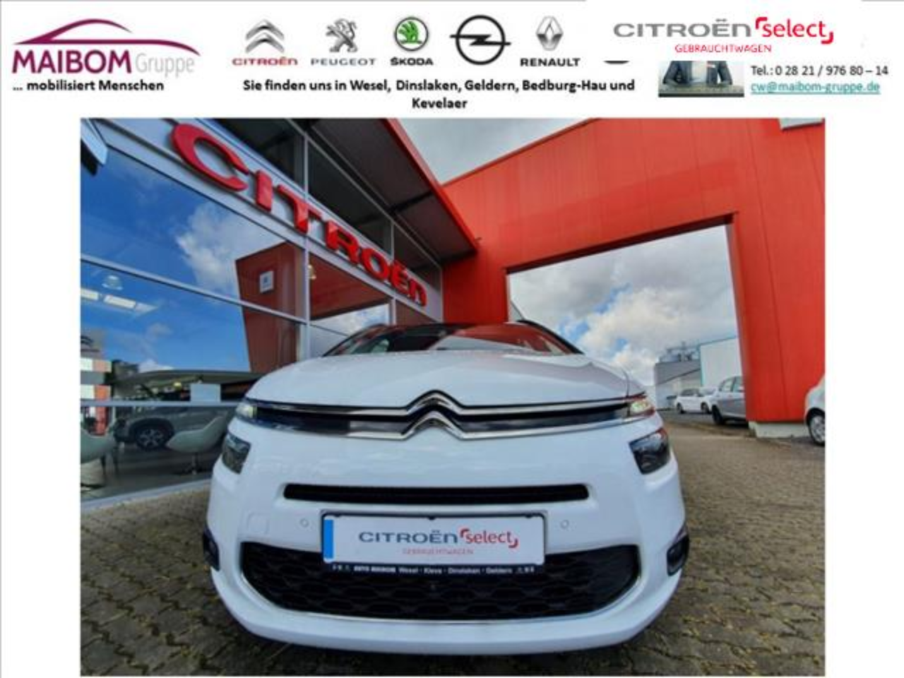 Citroën C4 Picasso Grand  Picasso BlueHDi 150 EAT6 Exclusive