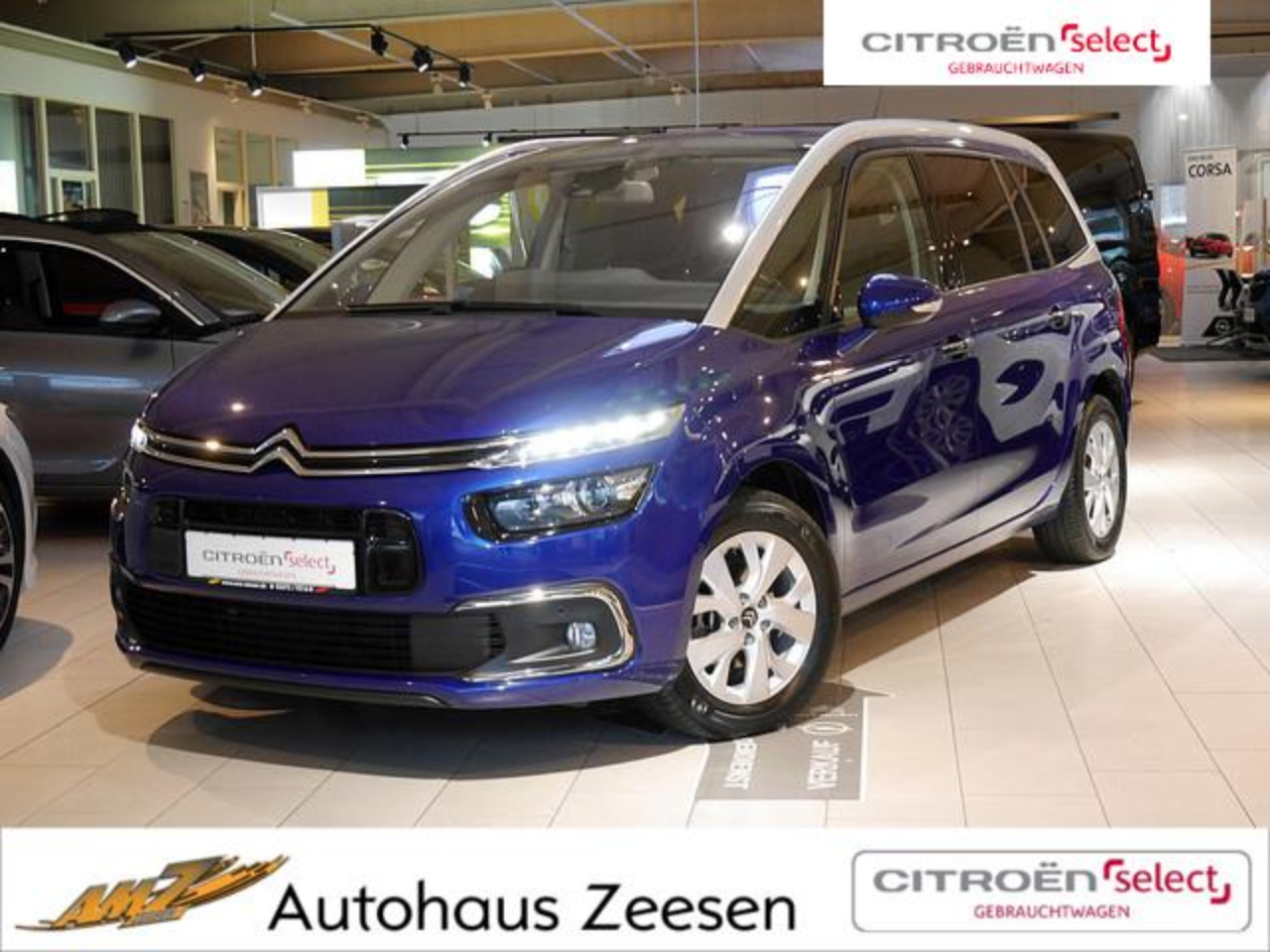 Citroën C4 Picasso Grand  Picasso BlueHDi 120 S&S Selection AHK