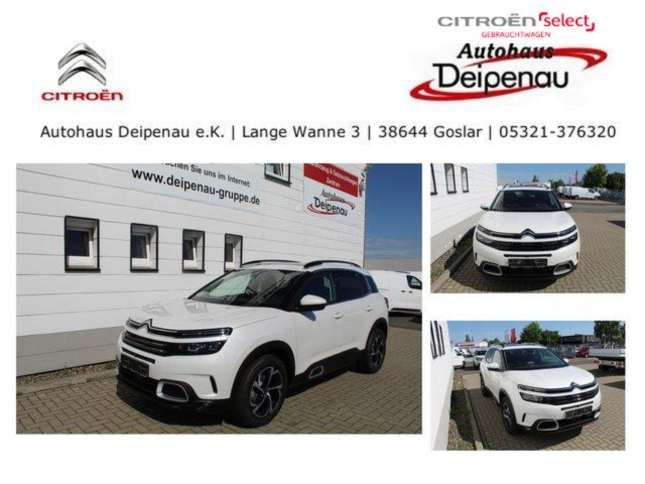 Citroën C5 Aircross Feel PT 180 EAT8 LED Panoramadach