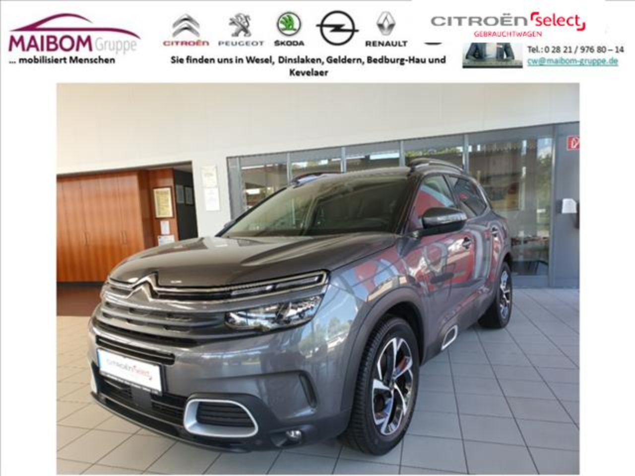 Citroën C5 Aircross Pure Tech 130 S&S FEEL TOP ANGEBOT!!!