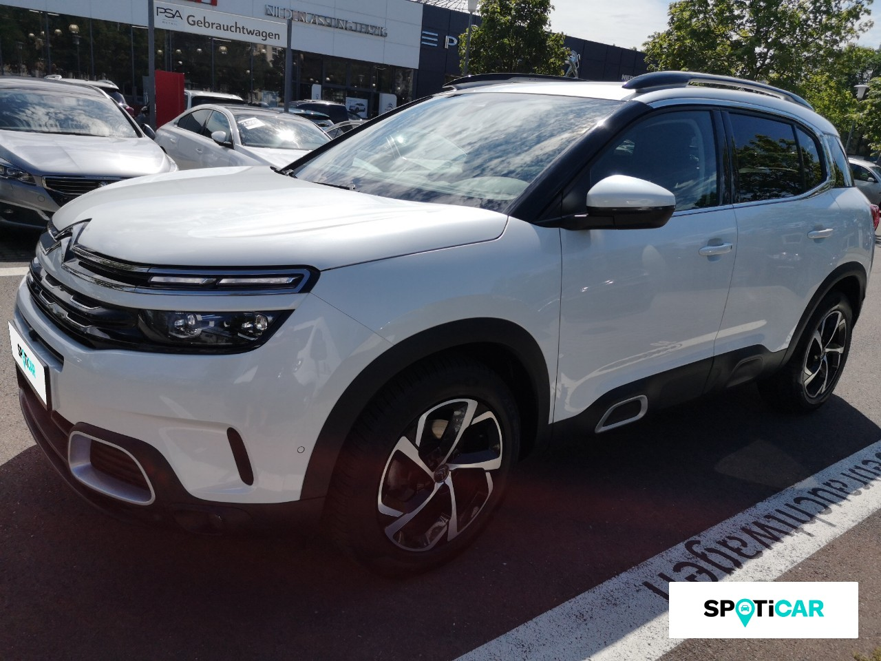 Citroën C5 Aircross SHINE BlueHDI 180 EAT8/ Navi/ Keyless/ SHZ/ DAB