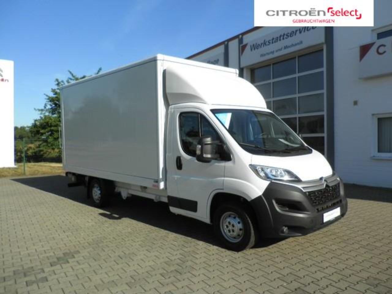 Citroën Jumper 35 L4 Heavy Koffer Ladebordwand