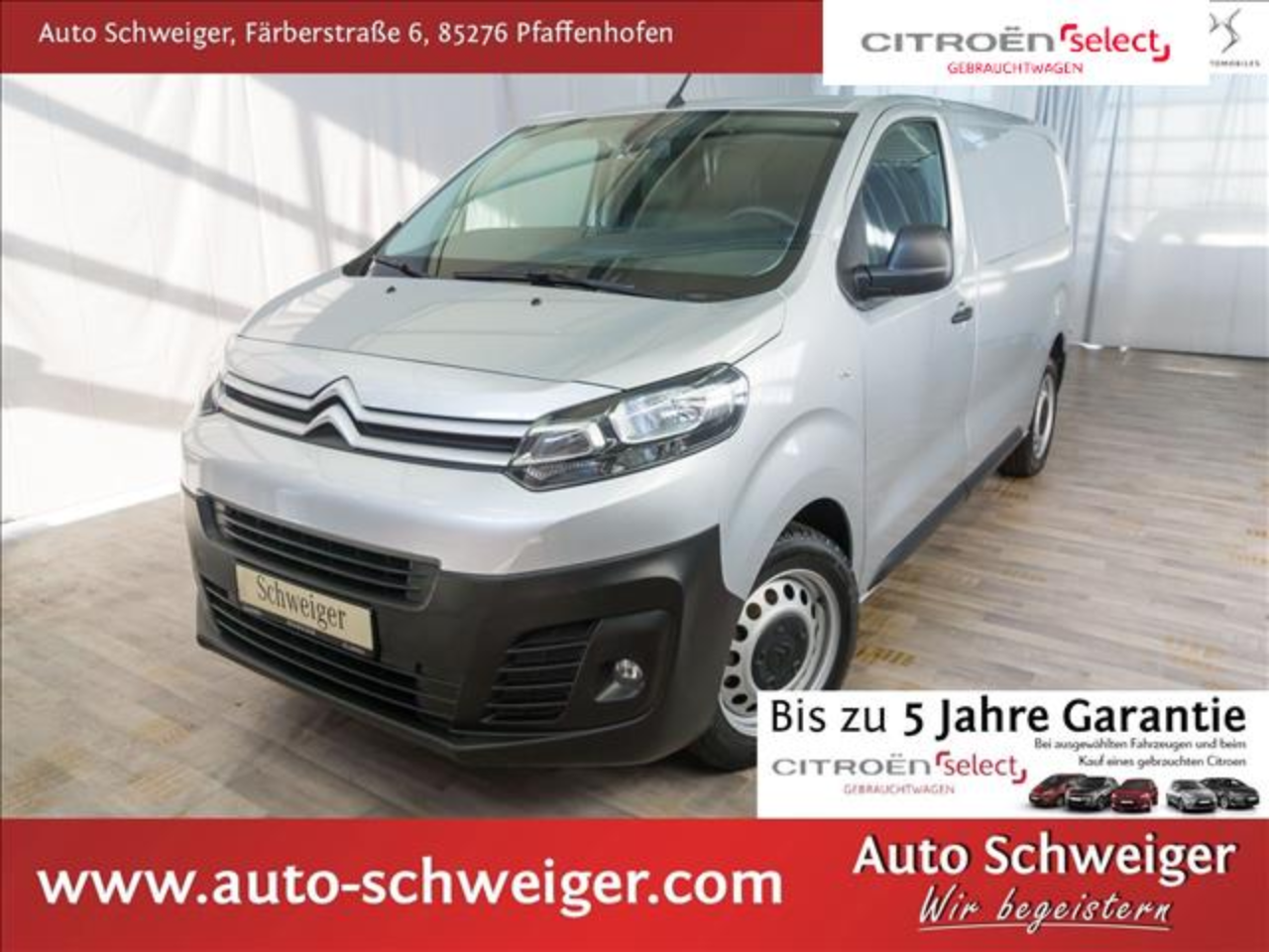 Citroën Jumpy KW Niv2L2 Busin.PTS hi. Radio DAB Klima