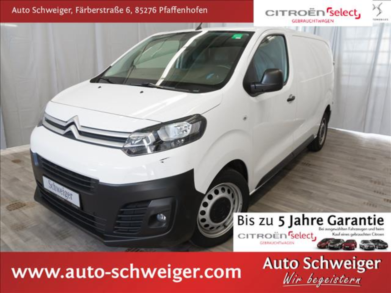 Citroën Jumpy KaWa Business M PTS hinten Klima Radio DAB