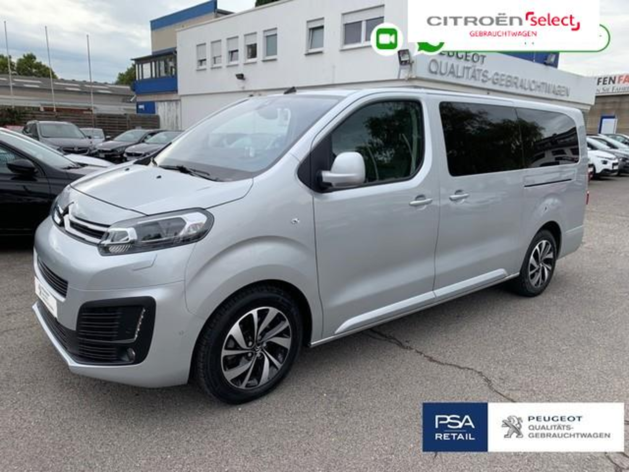 Citroën Spacetourer XL 2.0 BlueHDi 180 EAT8 Shine e.Turen