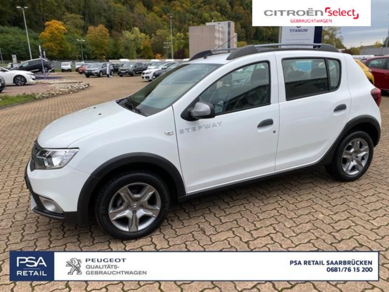 Dacia Sandero Stepway Celebration TCe 90PS Navi|Klima|Kamera|LM