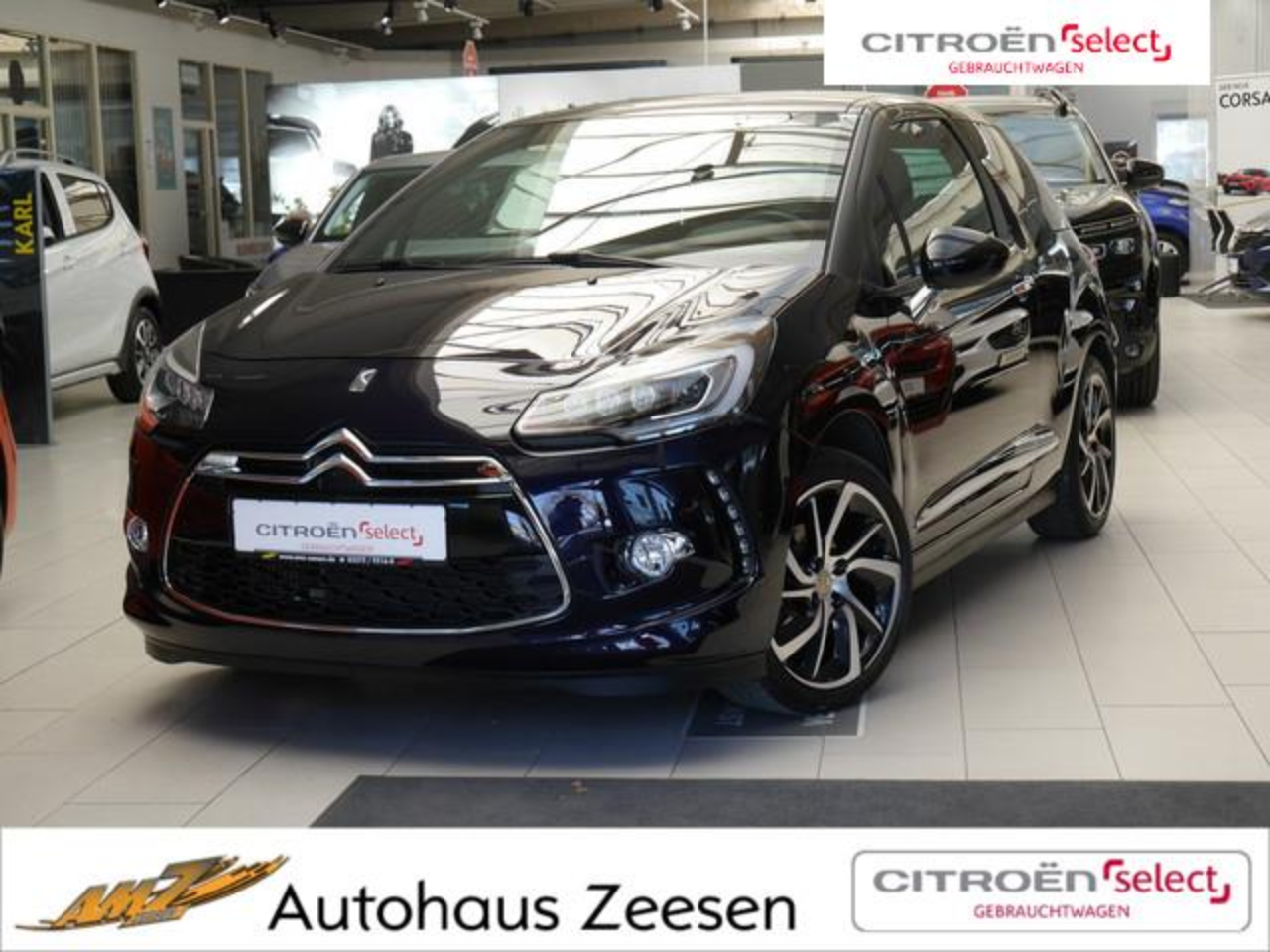 Ds DS 3 PureTech 110 Limited Edition 1955 NAVI LED
