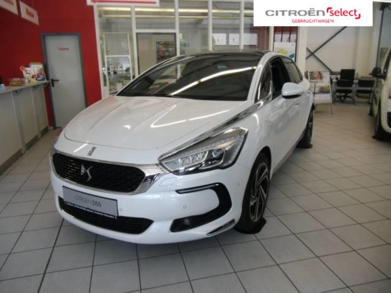 Ds DS5 DS 5 BUSINESS CLASS HYBRID4 EURO6