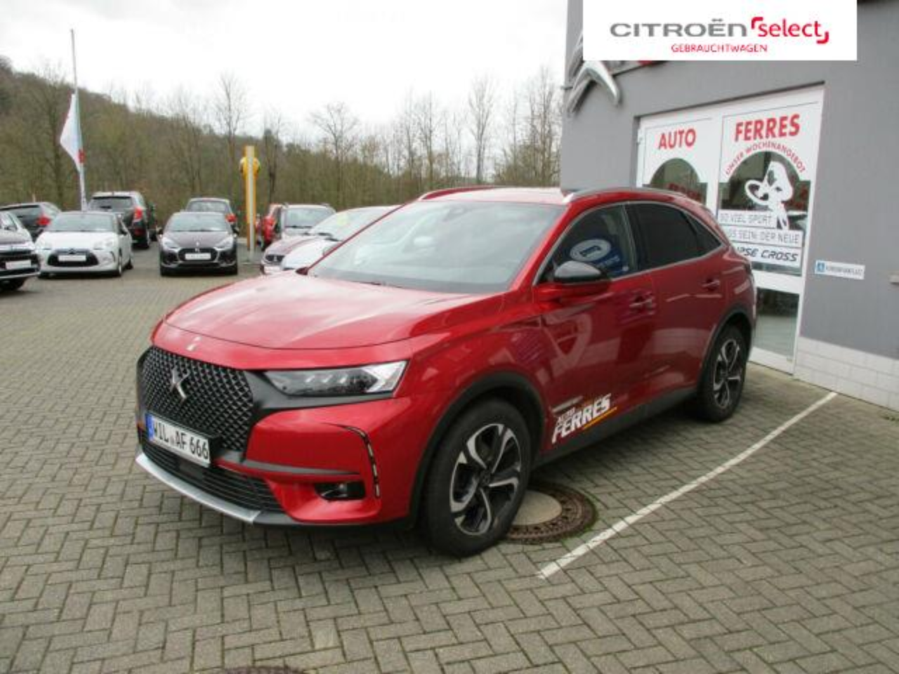 Ds DS 7 Crossback , Performance Line ,Panoramaglasd.
