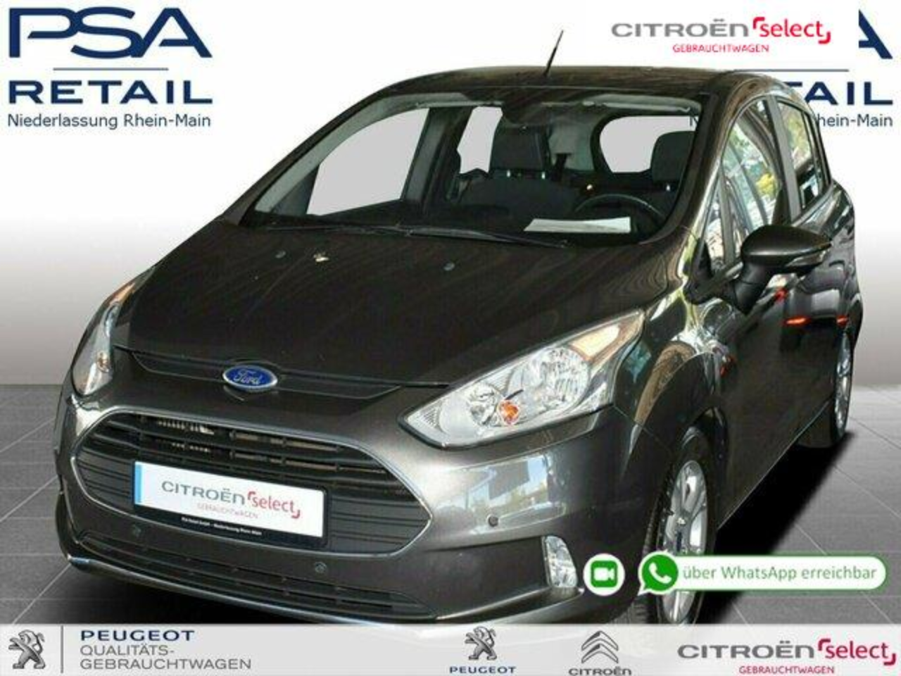 Ford B-Max 1.0 EcoBoost Trend *Parkpilot vo+hi*Easy-Driver Pa