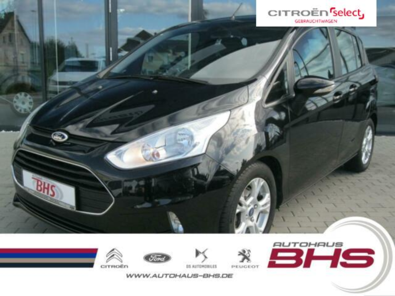 Ford B-Max 1.0 EcoBoost 100 PS SYNC Edition