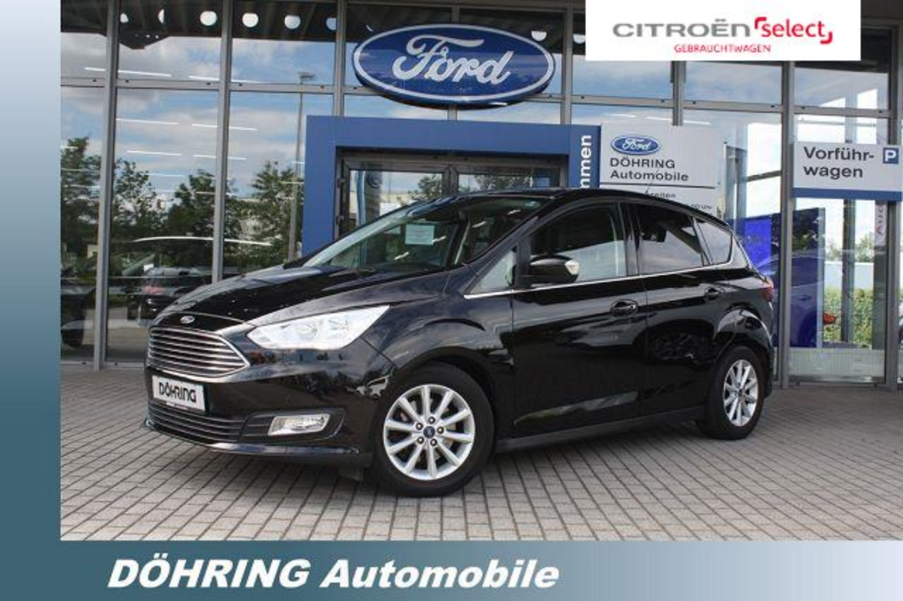Ford C-Max 1,5ECOBOOST 150PS TITANIUM, NAVI, PDC