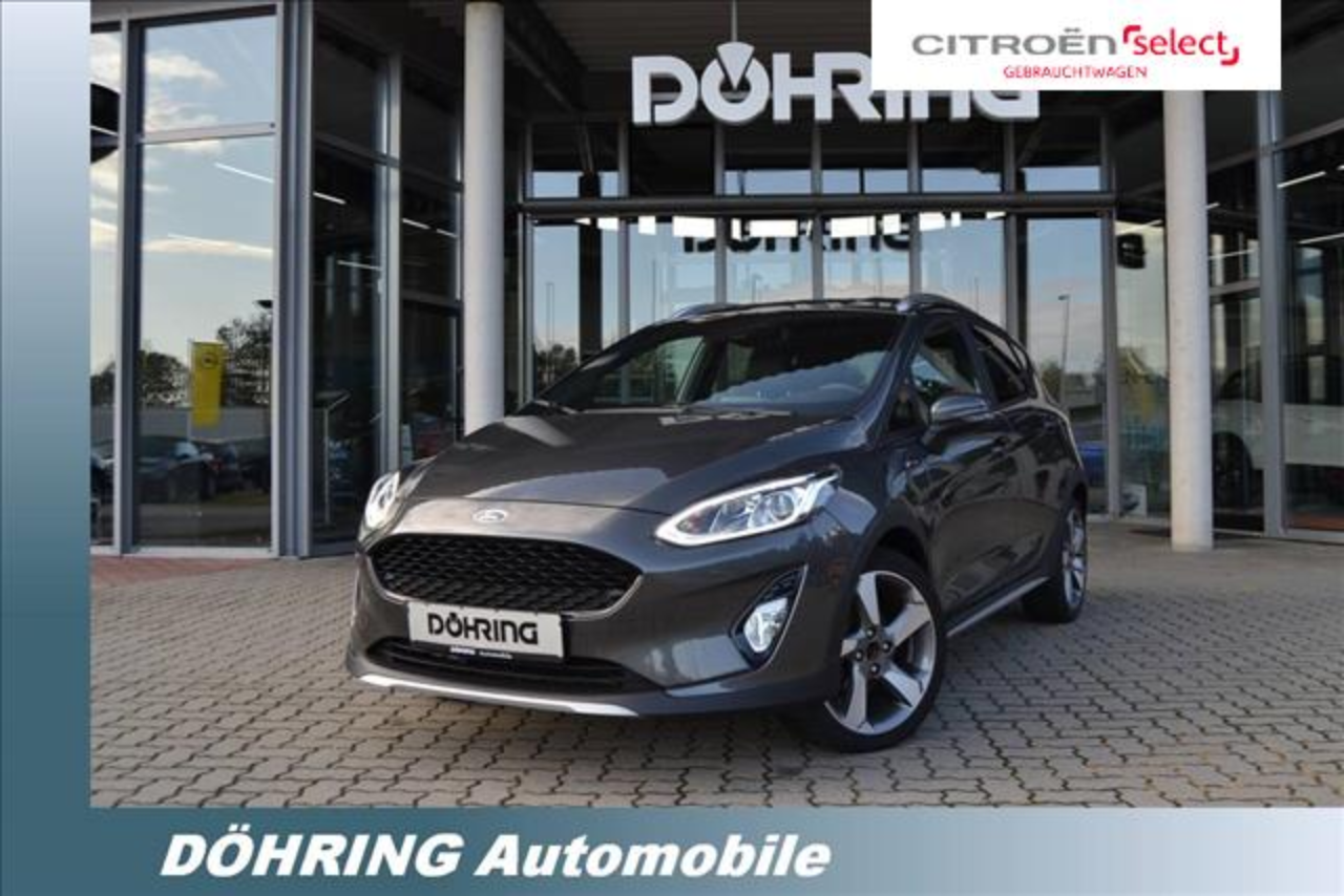 Ford Fiesta 1,0 Ecoboost Active Plus 125 PS NAVI PDC