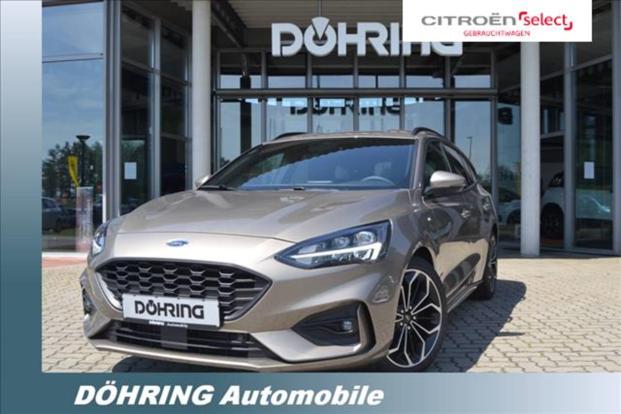 Ford Focus Turnier 1,0 EcoB. 125PS ST-Line++HeadUp,Wi
