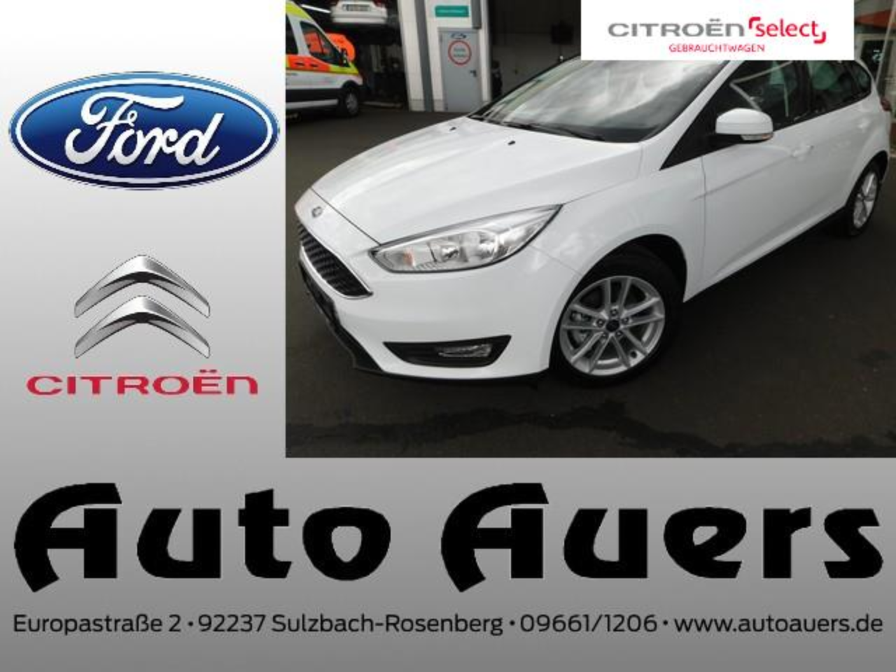 Ford Focus 1.0 EcoBoost Trend #Klima #Sitzheizung #Tempomat
