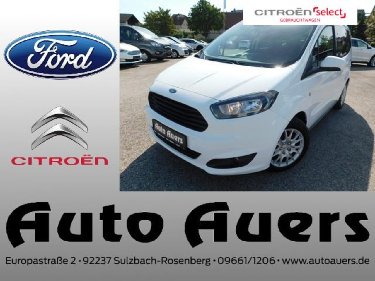 Ford Tourneo Courier Trend 1.0 EcoBoost #Klima